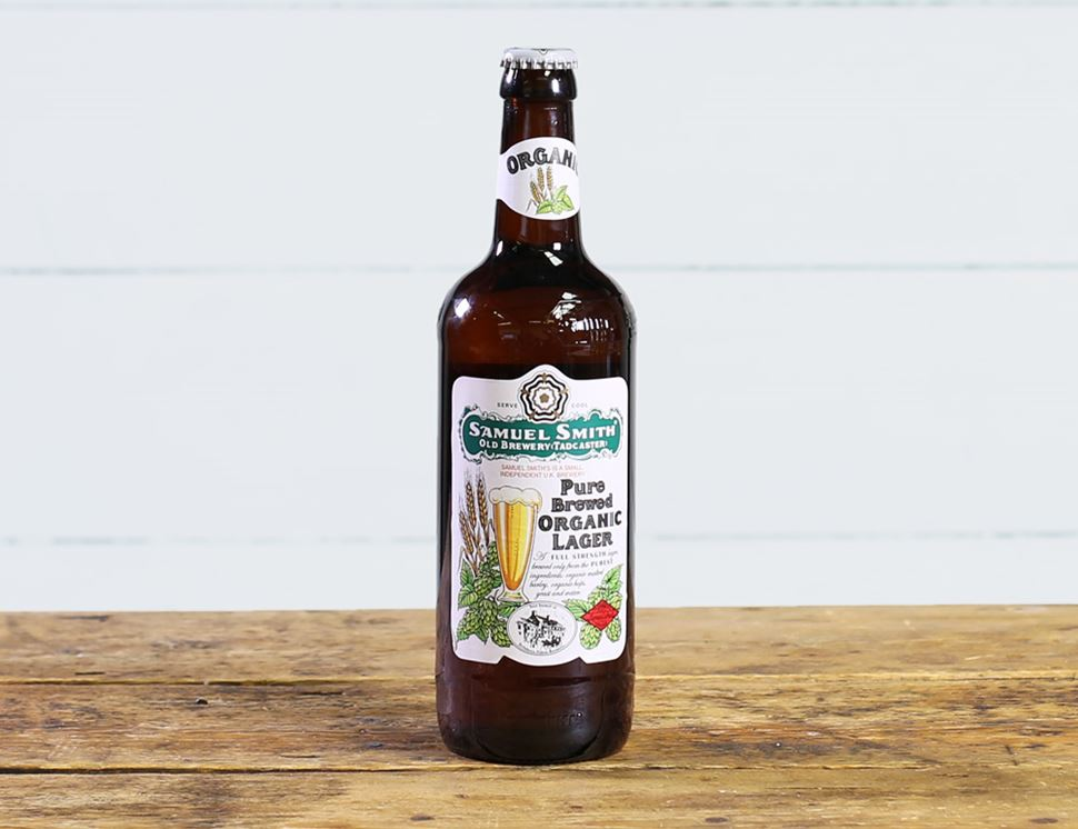 Samuel Smith's Pure Brewed Lager, Organic (550ml)