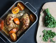 Bwarrk Baked Citrus Chicken