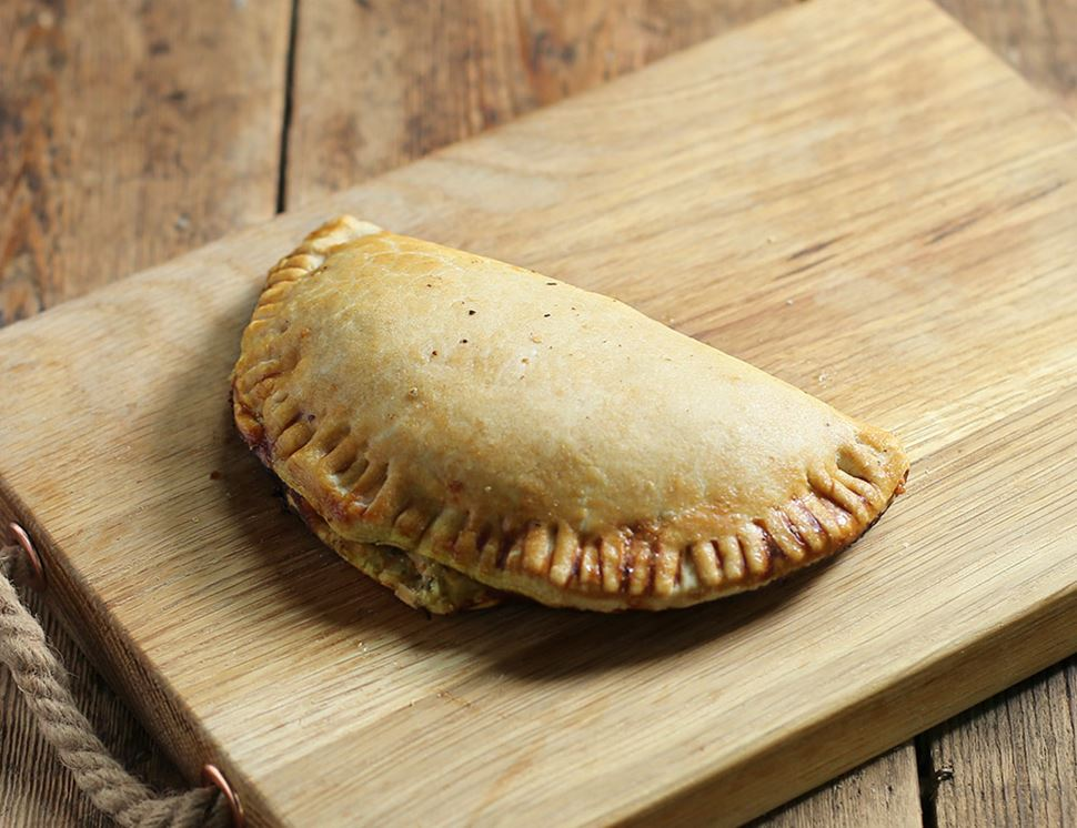 Mature Cheddar & Vegetable Pasty, Organic, Authentic Bread Co. (190g)