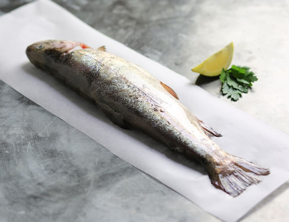 Rainbow Trout, Whole (300g avg)