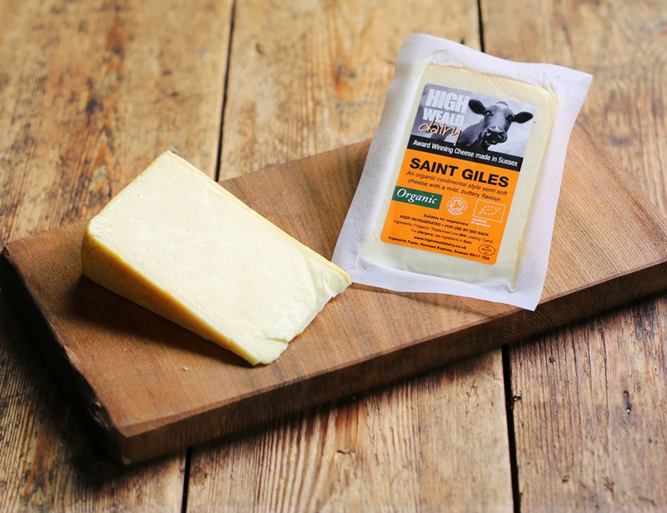 Saint Giles Cheese, High Weald Dairy (150g)