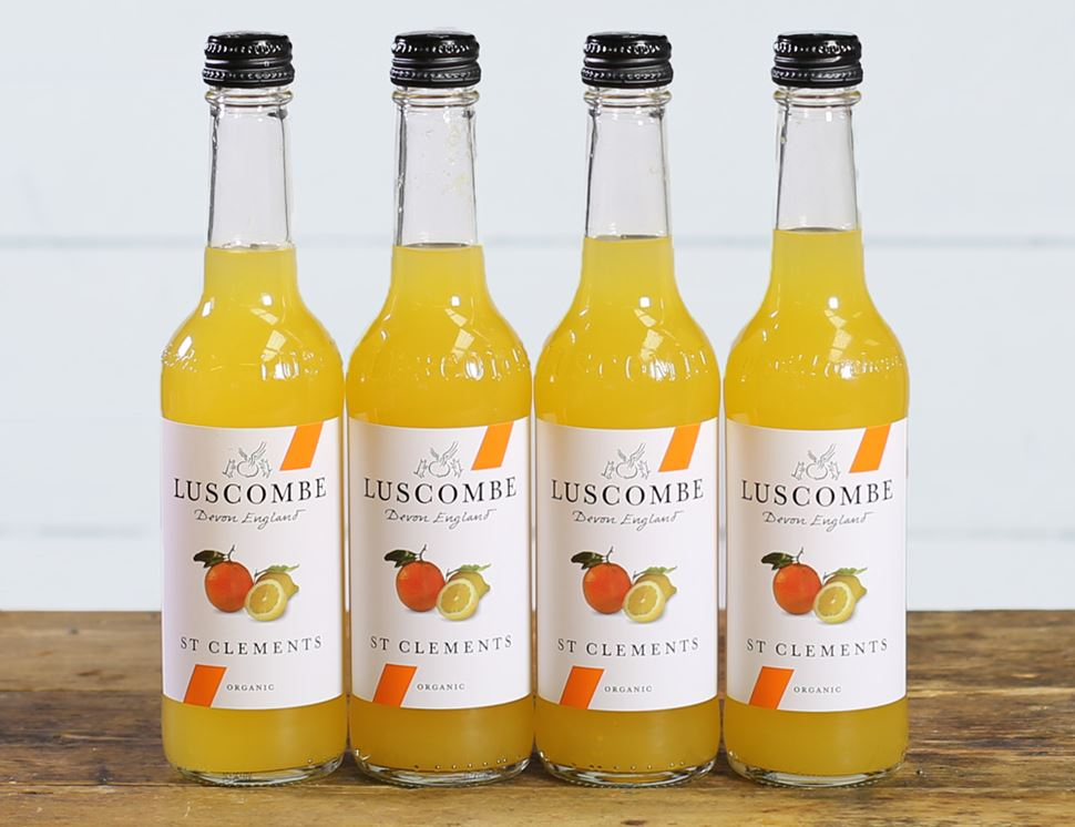 St Clements, Organic, Luscombe (4 x 270ml)