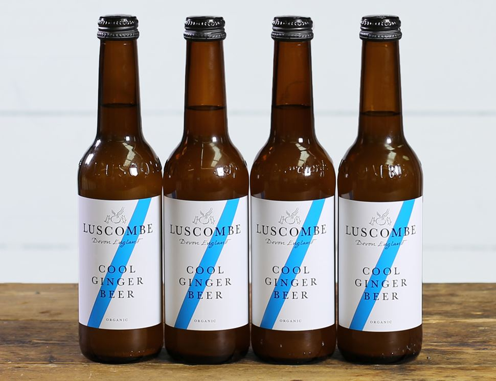 Cool Ginger Beer, Organic, Luscombe (4 x 270ml)