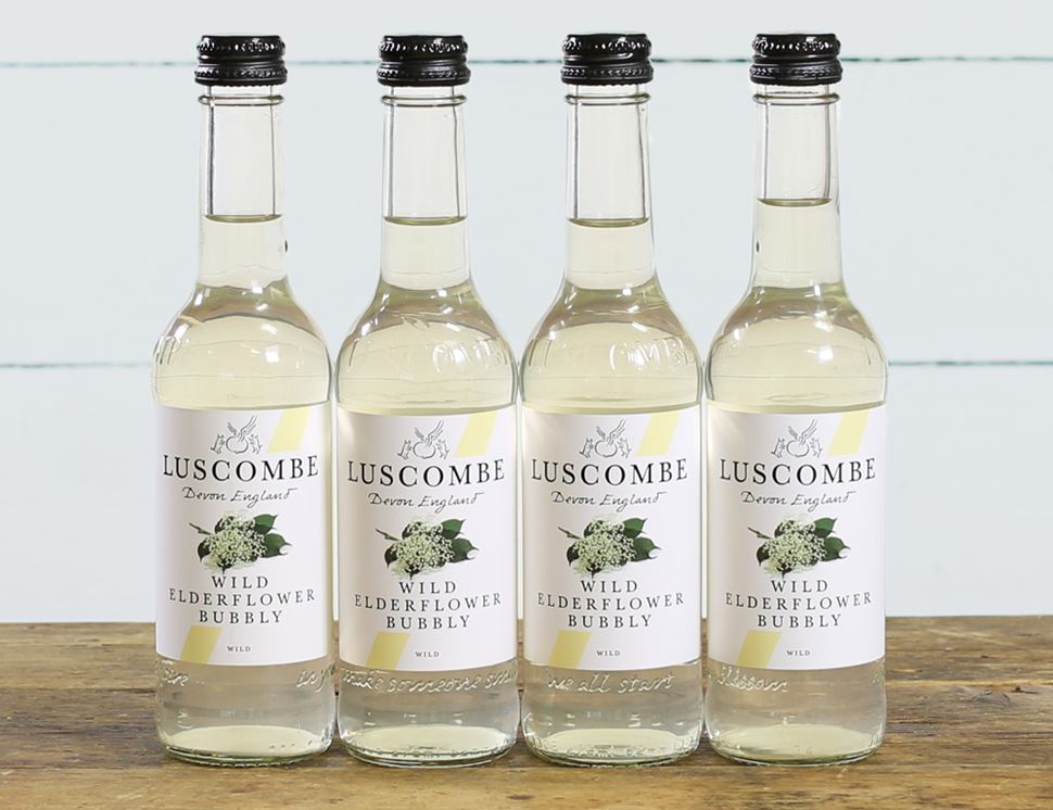 Wild Elderflower Bubbly, Luscombe (4 x 270ml)