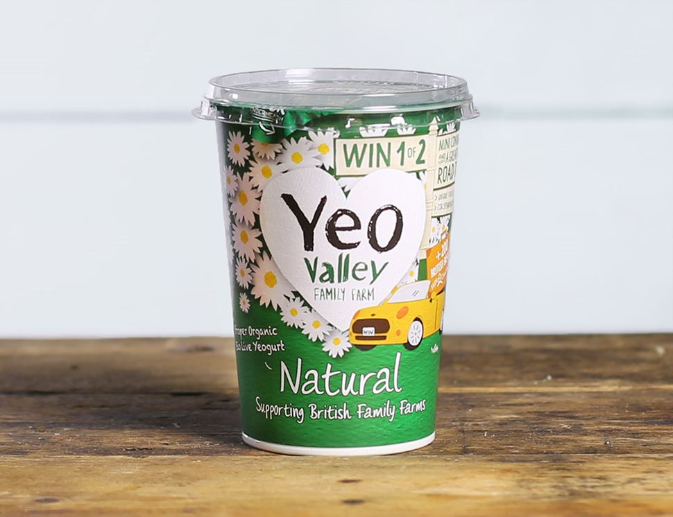 Natural Yogurt, Organic, Yeo Valley (500g)