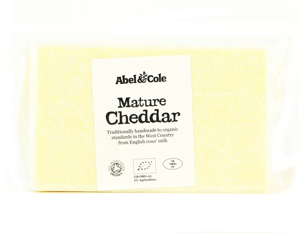 Free Mature Cheddar, Abel & Cole (350g)