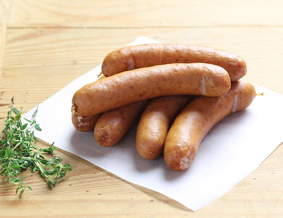 Hot Dogs, Organic, Helen Browning (6 pack, 250g)