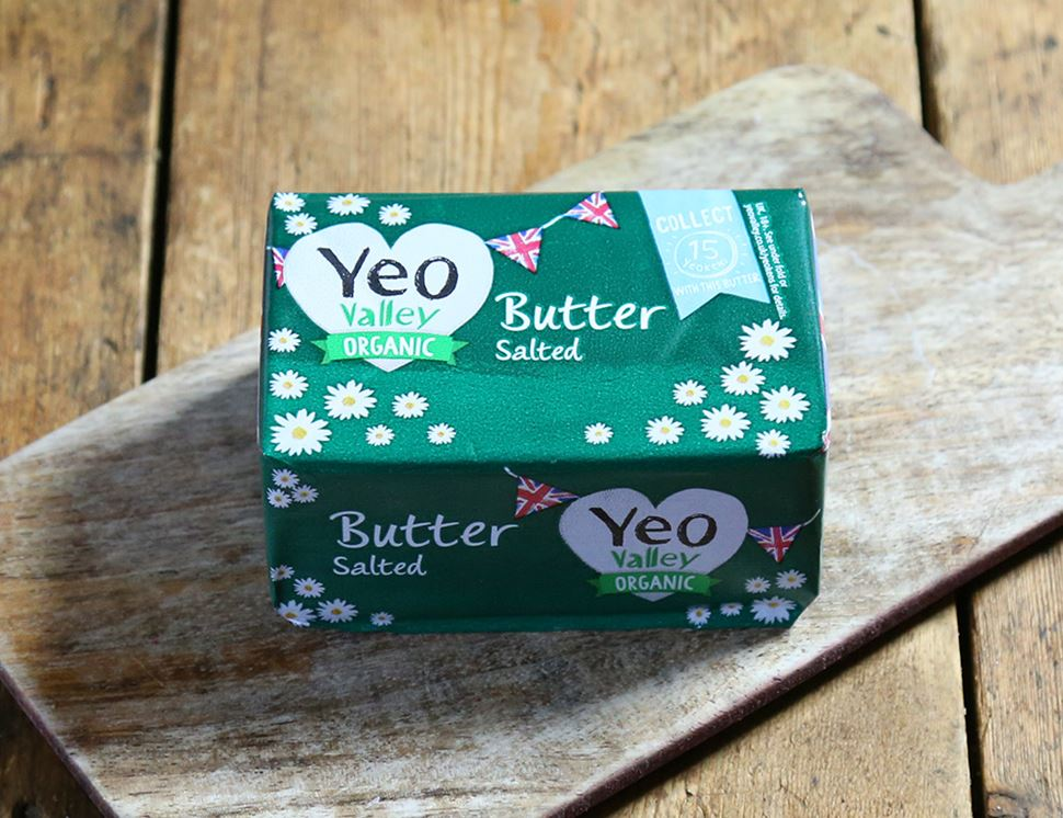 Salted Butter, Organic, Yeo Valley (250g)