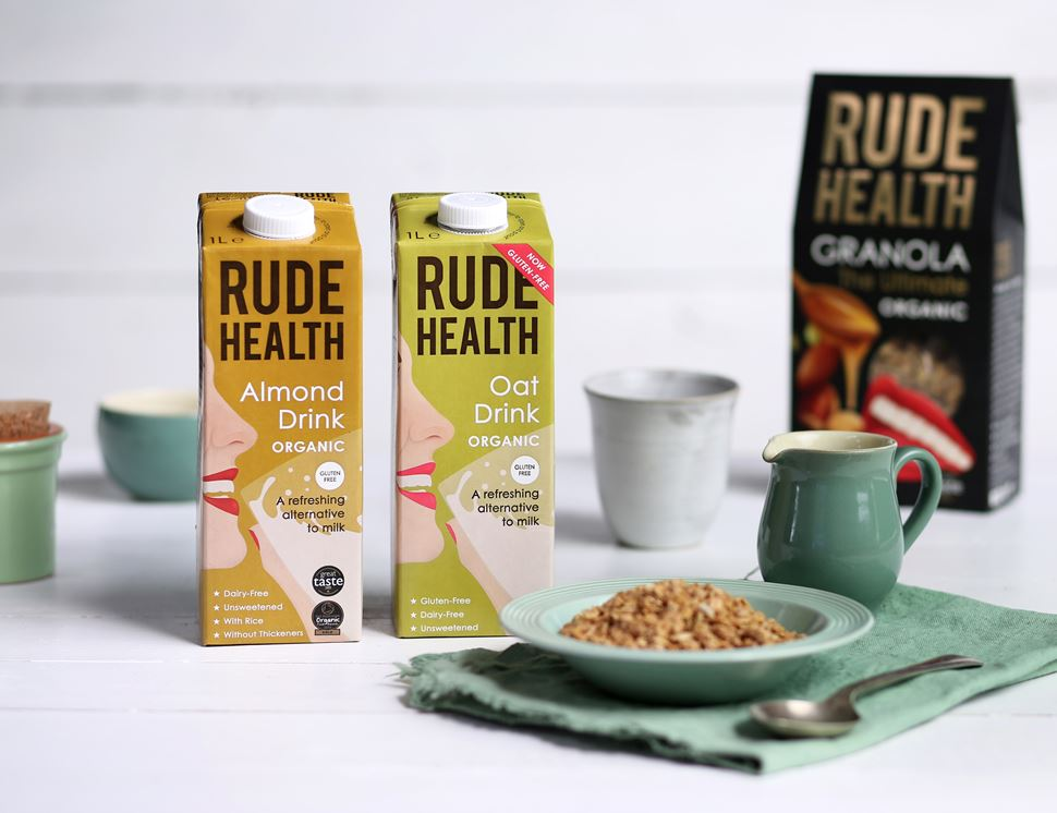 Almond Drink, Organic, Rude Health (1 litre)