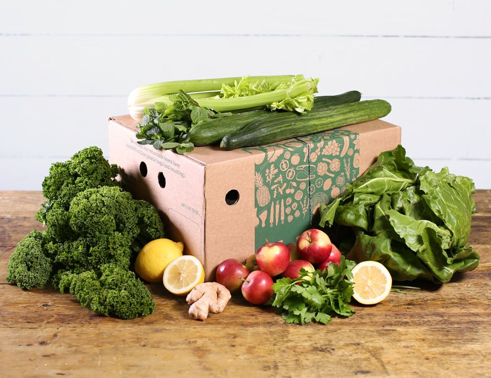 Green Juicing Box, Organic (3kg approx.)