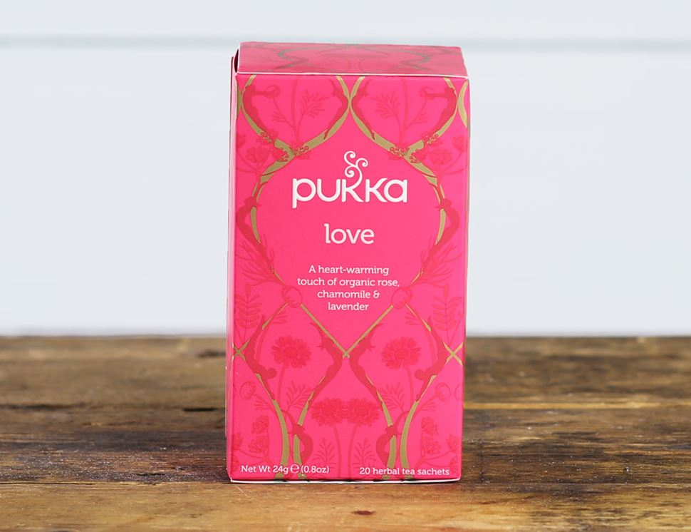 Love Tea, Organic, Pukka (20 bags)