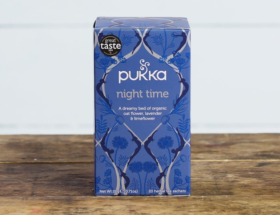 Night Time Tea Organic Pukka 20 Bags