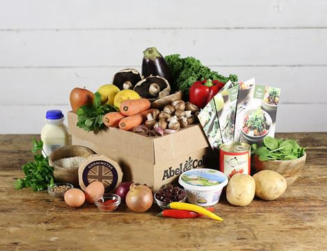 Veggie Recipe Box