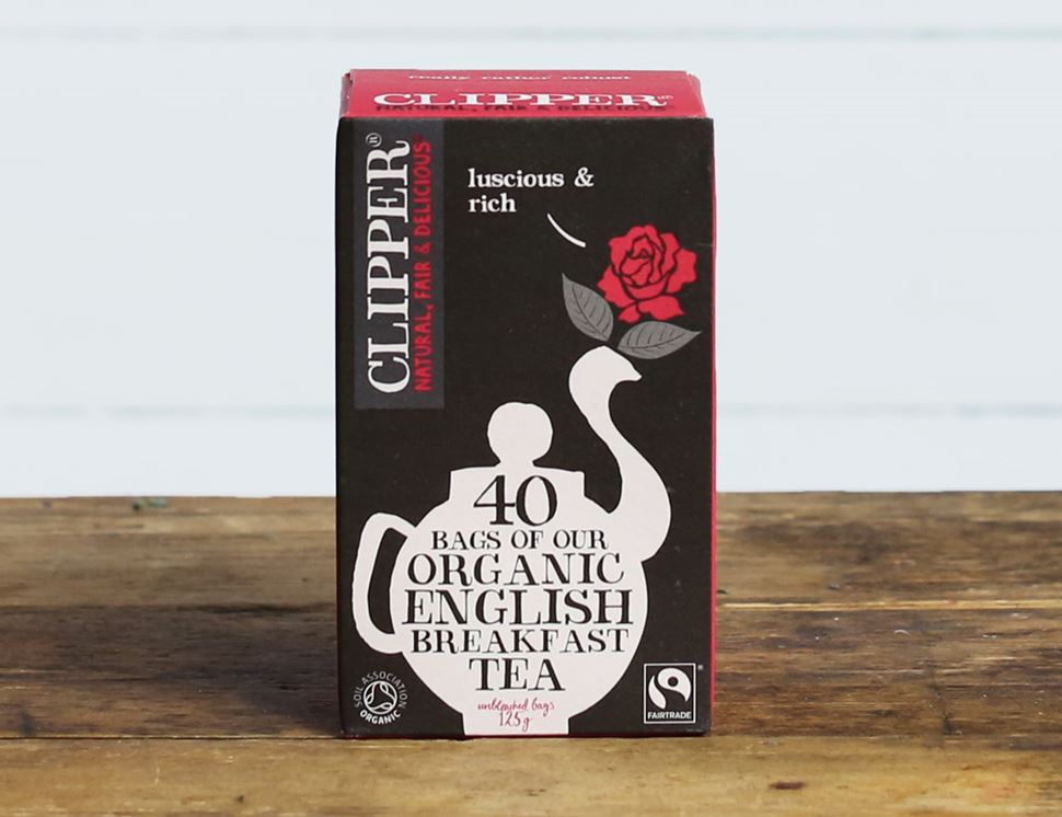 English Breakfast Tea, Organic, Clipper (40 bags)