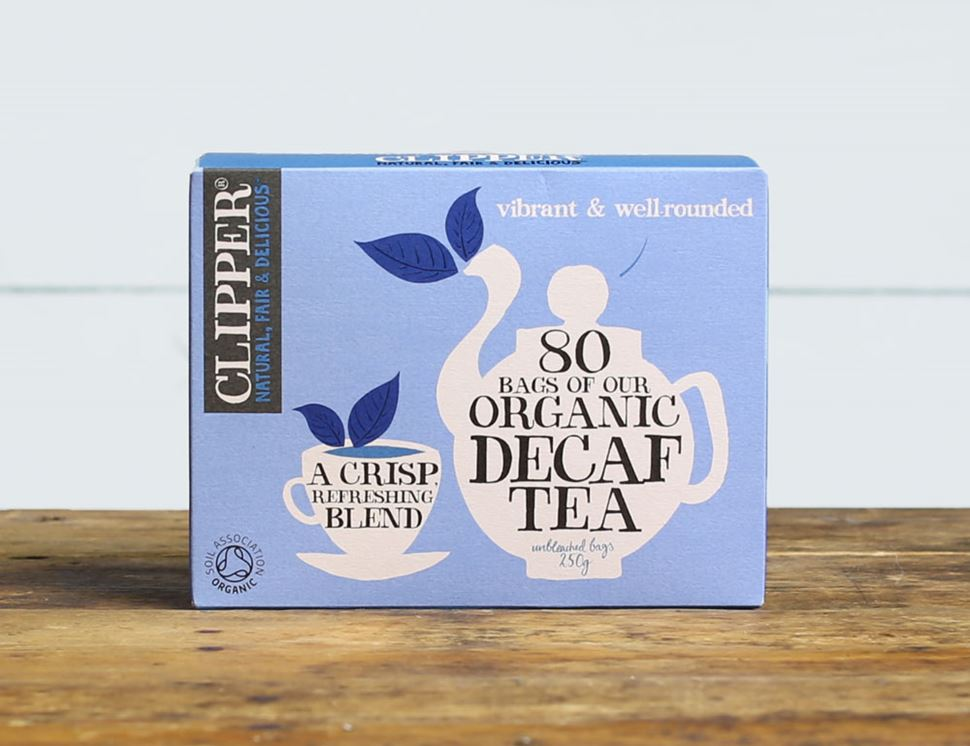 Decaf Everyday Tea, Organic, Clipper (80 bags)