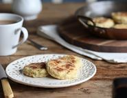 Cheesy Leek Welsh Cakes