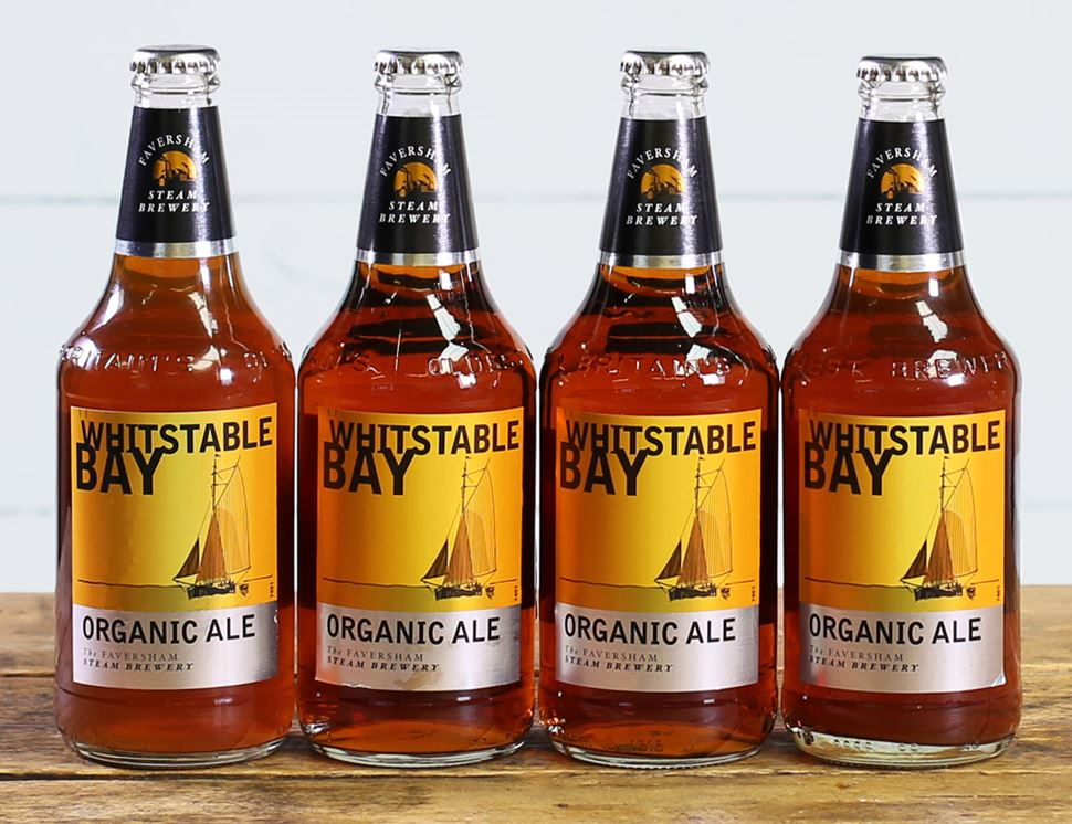 Whitstable Bay Ale, Organic (4 x 500ml)