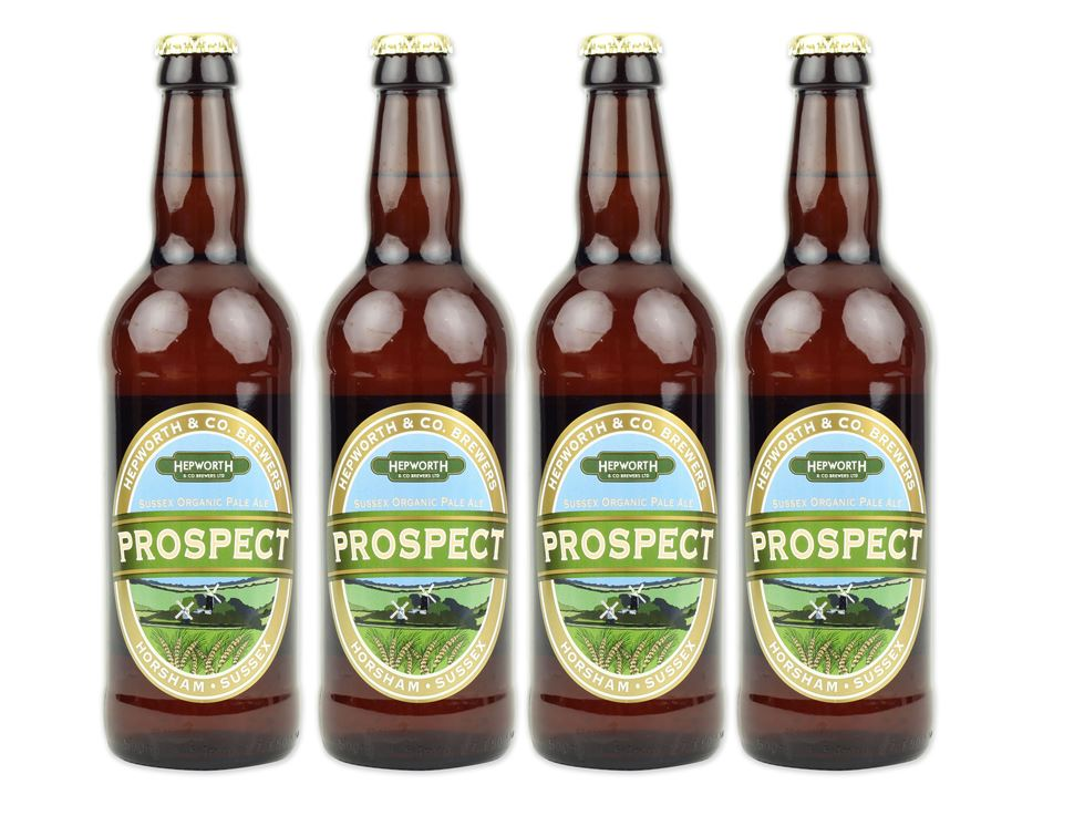 Prospect Pale Ale, Organic, Hepworth Brewery (4 x 500ml)