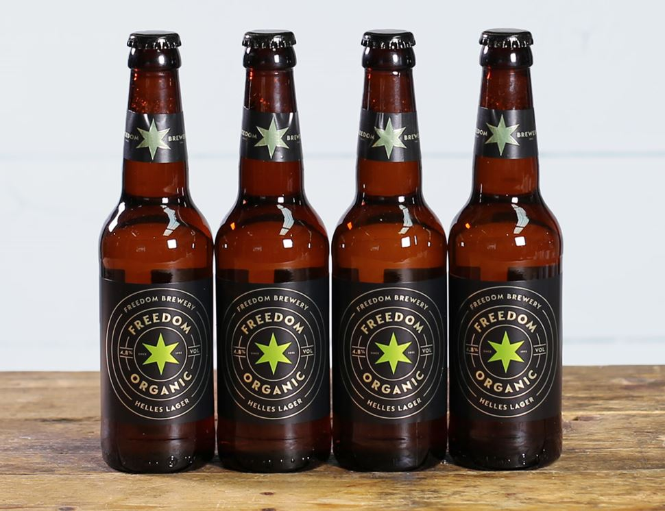 Freedom Lager, Organic (4 x 330ml)