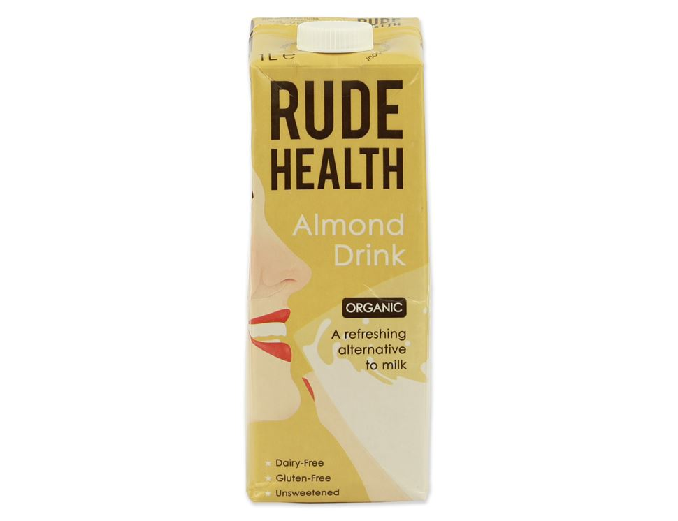 Free Almond Drink, Rude Health (1 litre)