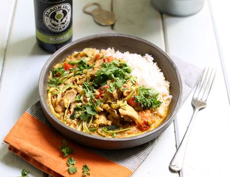 Coconut Chicken Curry & Rice