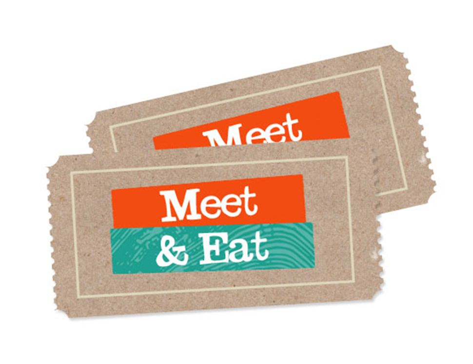 Meet & Eat Ticket, 2nd November 2014 (adult)