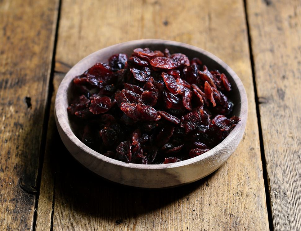 Dried Cranberries, Organic, Abel & Cole (125g)