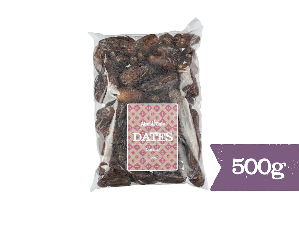 Pitted Dates, Organic, Abel & Cole (500g)
