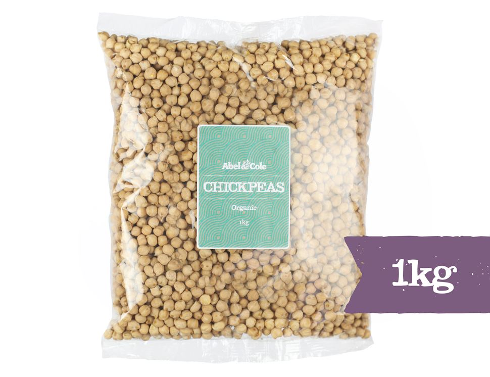 Chickpeas, Organic, Abel & Cole (1kg)