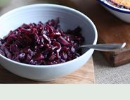 Boogaloo Braised Red Cabbage