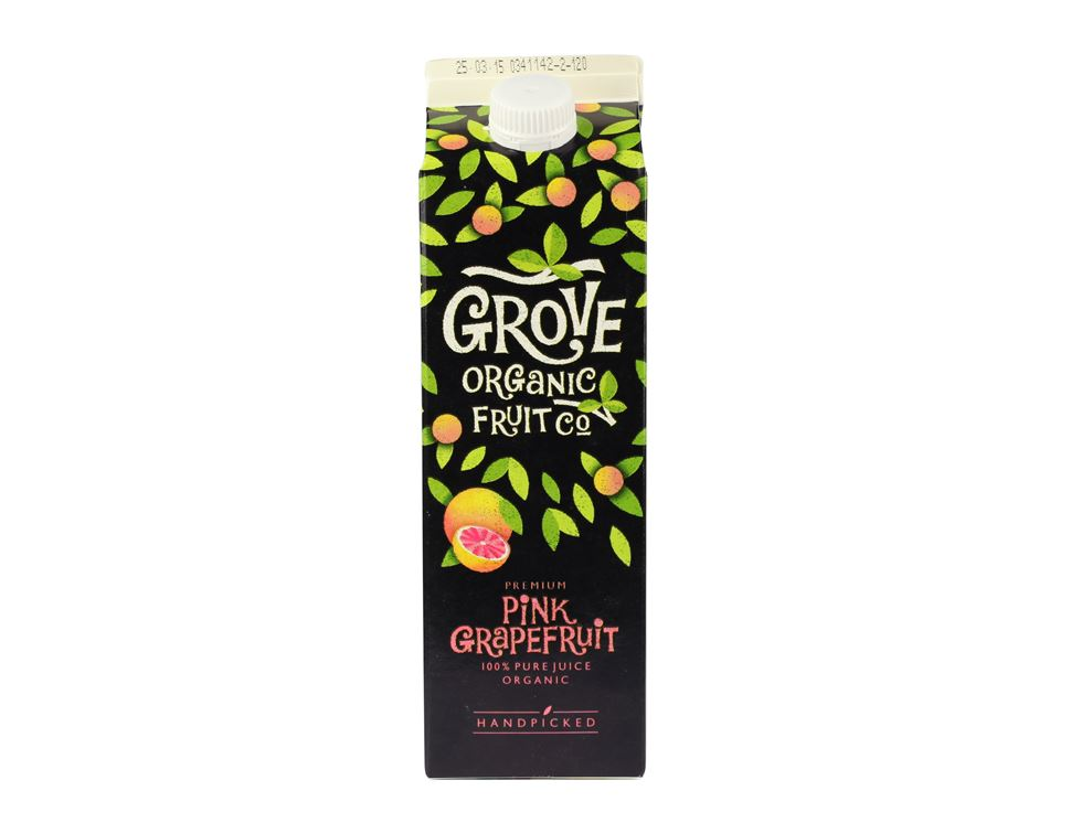 Pink Grapefruit Juice, Grove (1 litre)