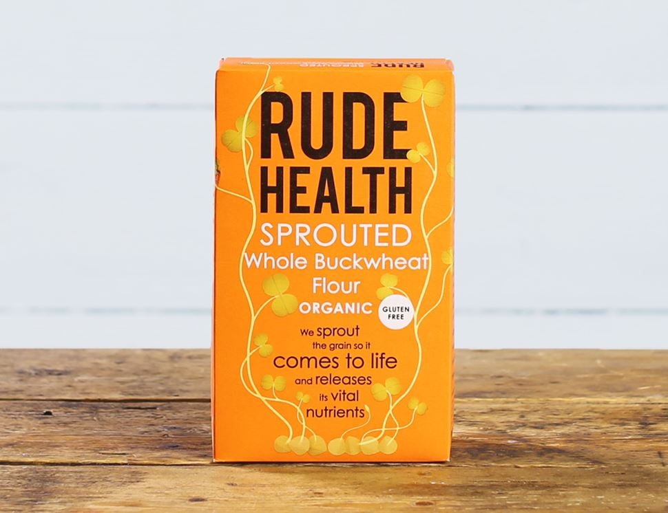 organic sprouted buckwheat flour rude health