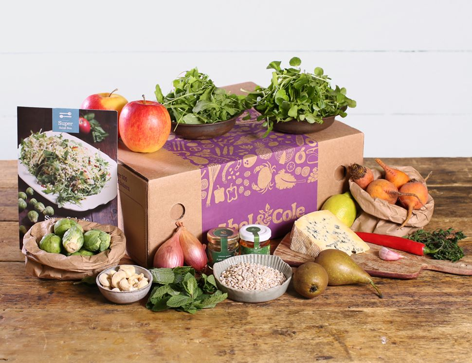 Super Salad Recipe Box, Organic