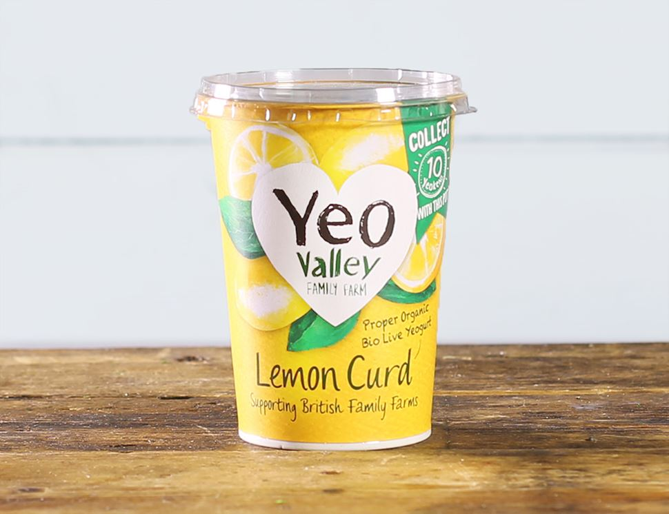 Lemon Curd Yogurt, Organic, Yeo Valley (450g)