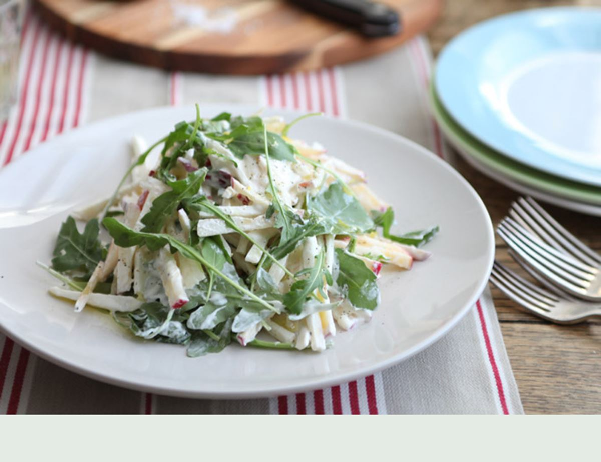 Apple & Celeriac Salad