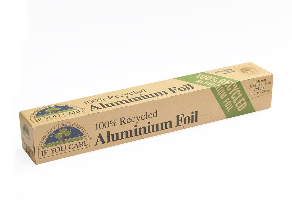 Aluminum Foil 100% Recycled, If You Care (10 metres)