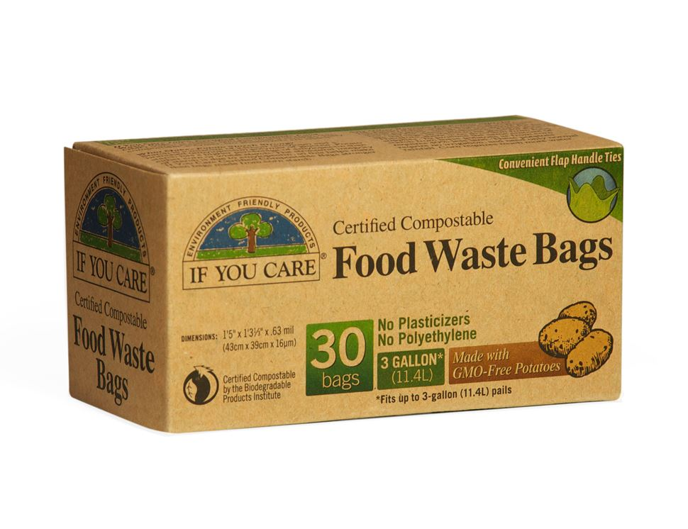 Compostable Waste Bags, If You Care (30 bags)