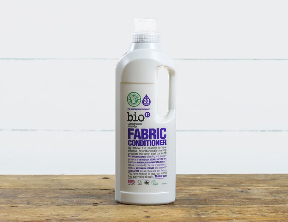 Lavender Fabric Conditioner, Bio-D (1L, 20 washes)