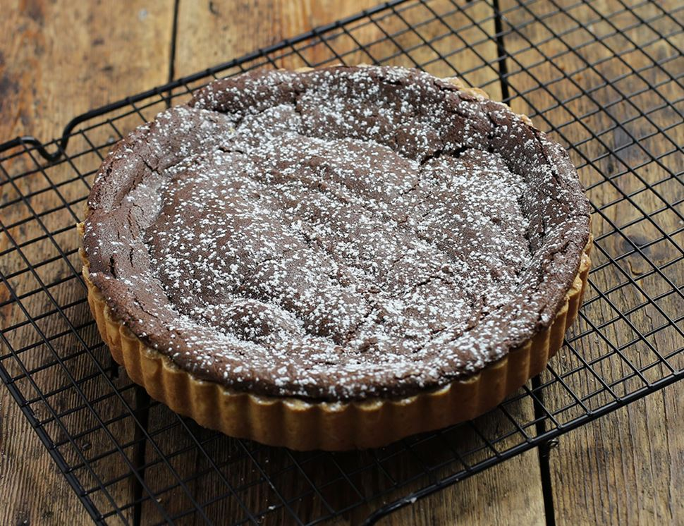 Dark Chocolate Tart, Organic, Famous Hedgehog Organic (600g)
