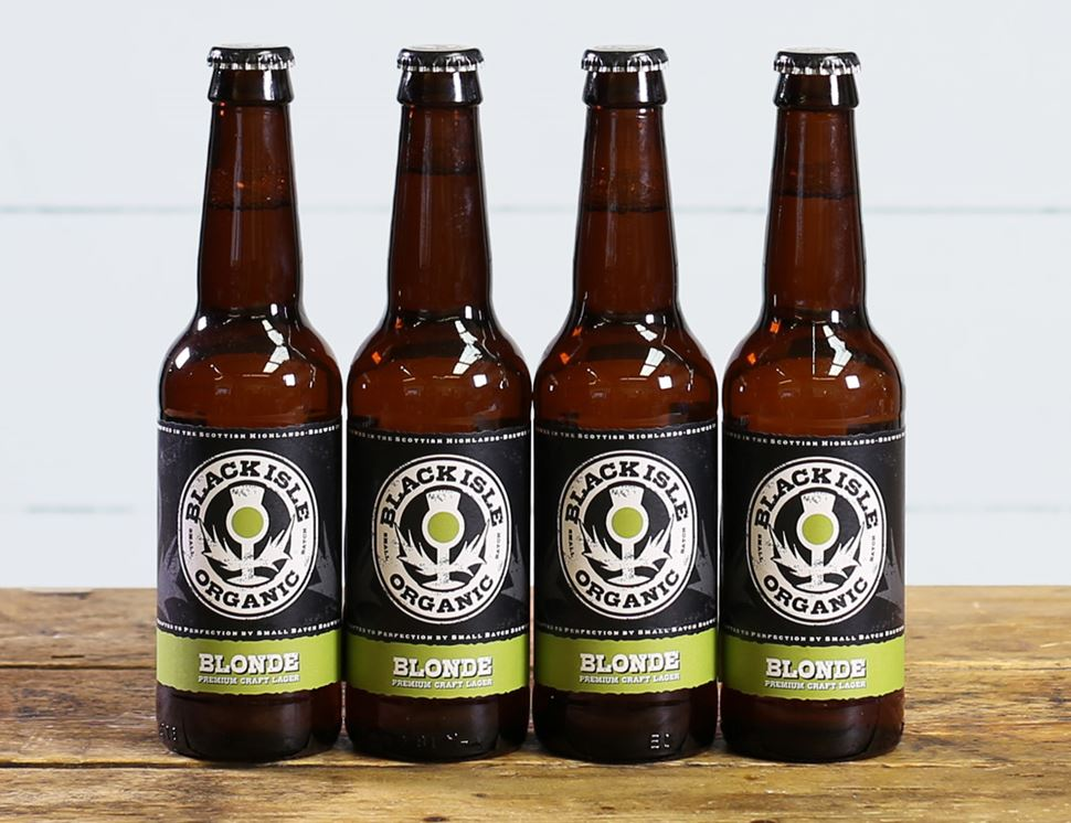 Blonde Beer, Organic, Black Isle (4 x 330ml)