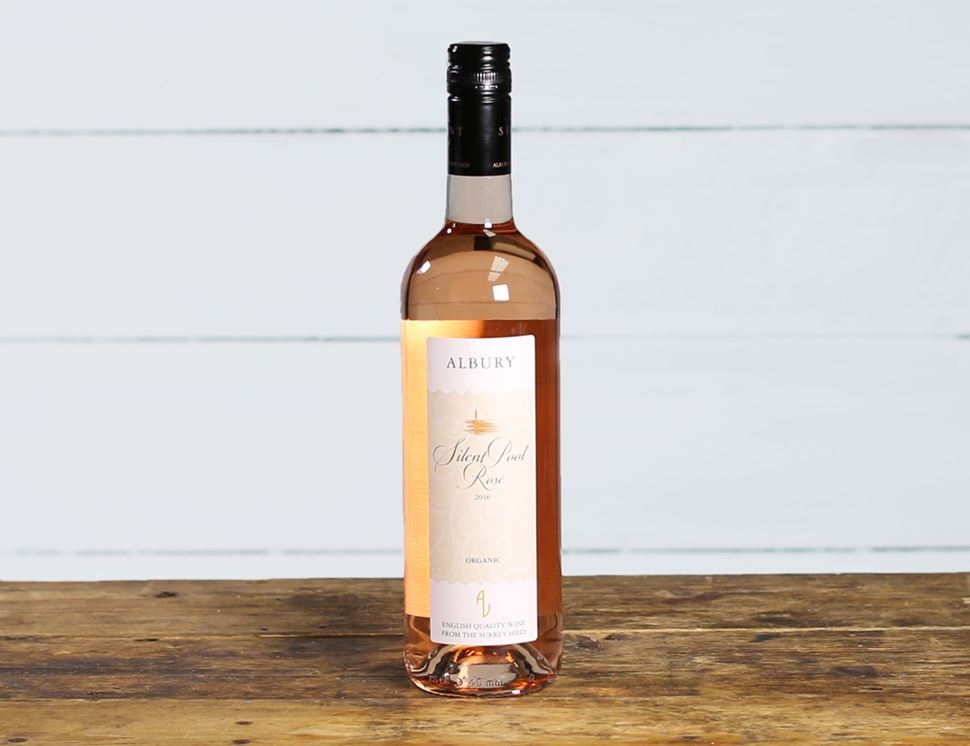 Silent Pool Rosé 2016, Albury Vineyard, Organic (75cl)