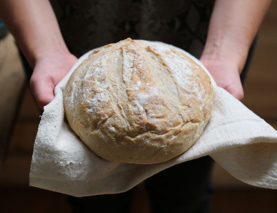Long Fermentation French Boule, Bake at Home, Organic, Authentic Bread Co (400g)