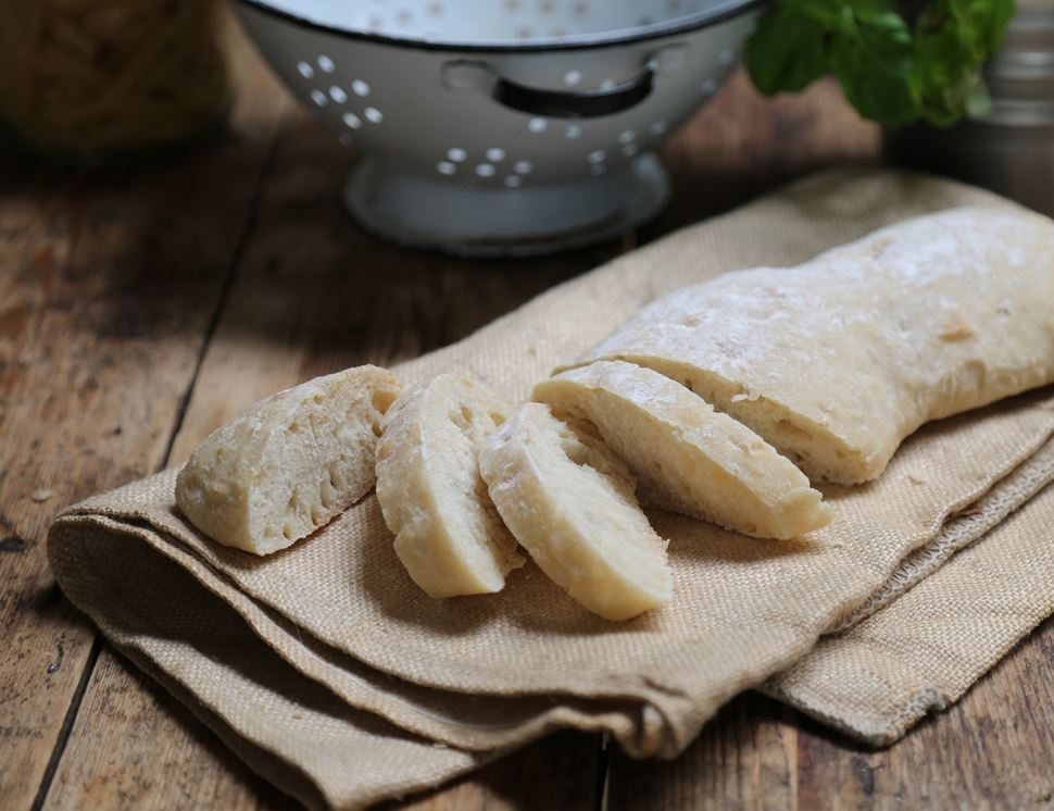 Stone Baked Ciabatta, Bake at Home, Authentic Bread Co (270g)