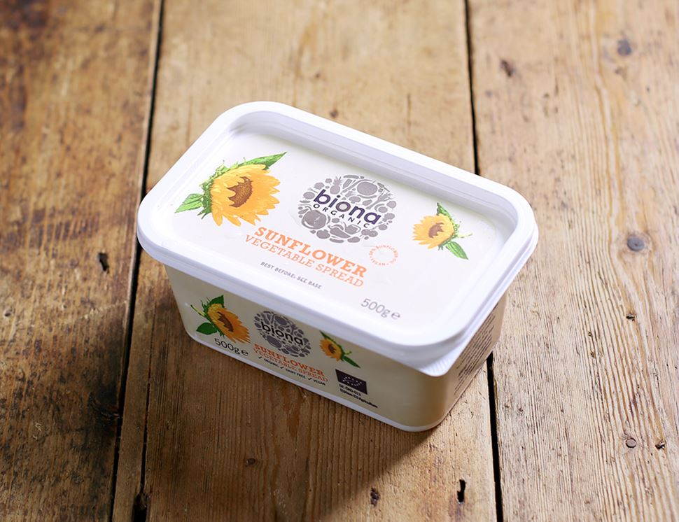 Sunflower Vegetable Spread Organic Biona 500g