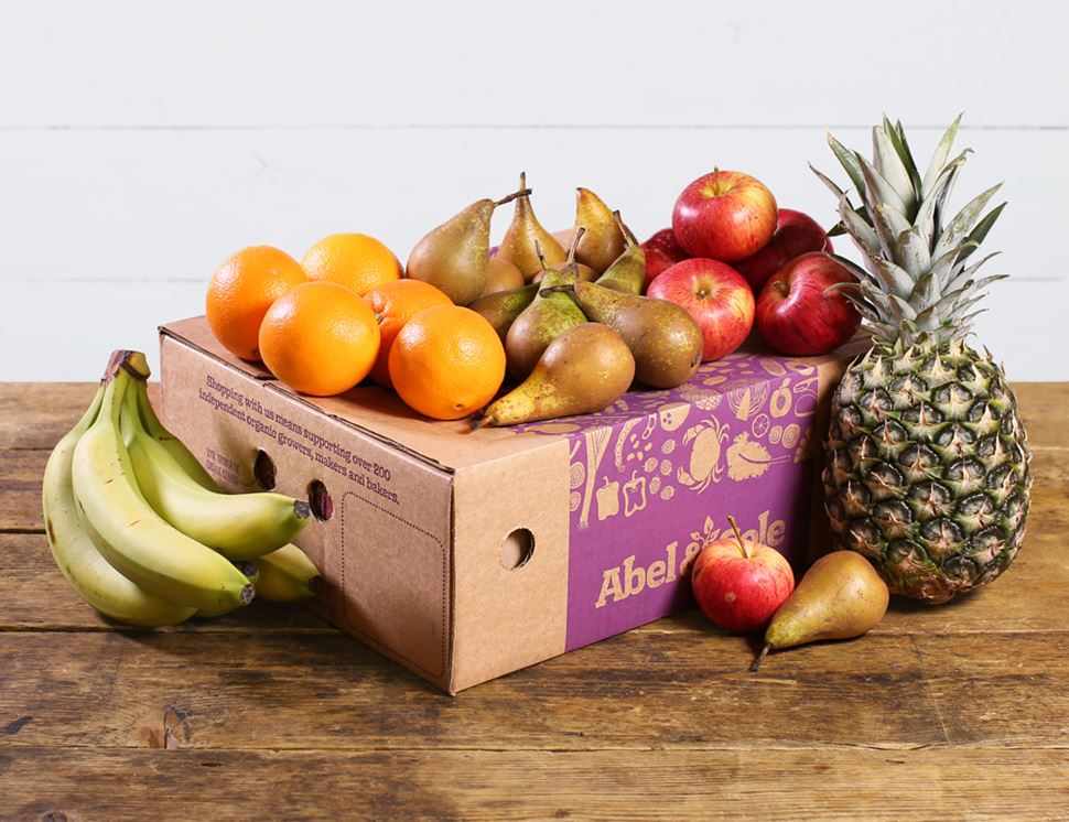 Large Fresh & Fruity Fruit Box, Organic