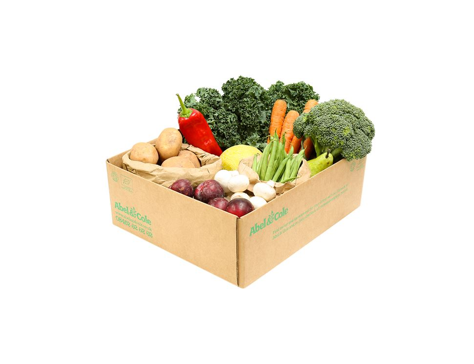 Small Everyday Easy Fruit & Veg Box Voucher (6 boxes)