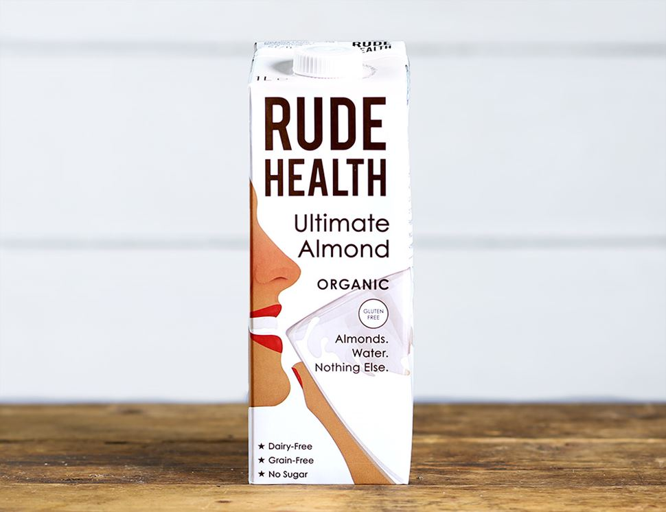 Ultimate Almond Drink, Organic, Rude Health (1 litre)