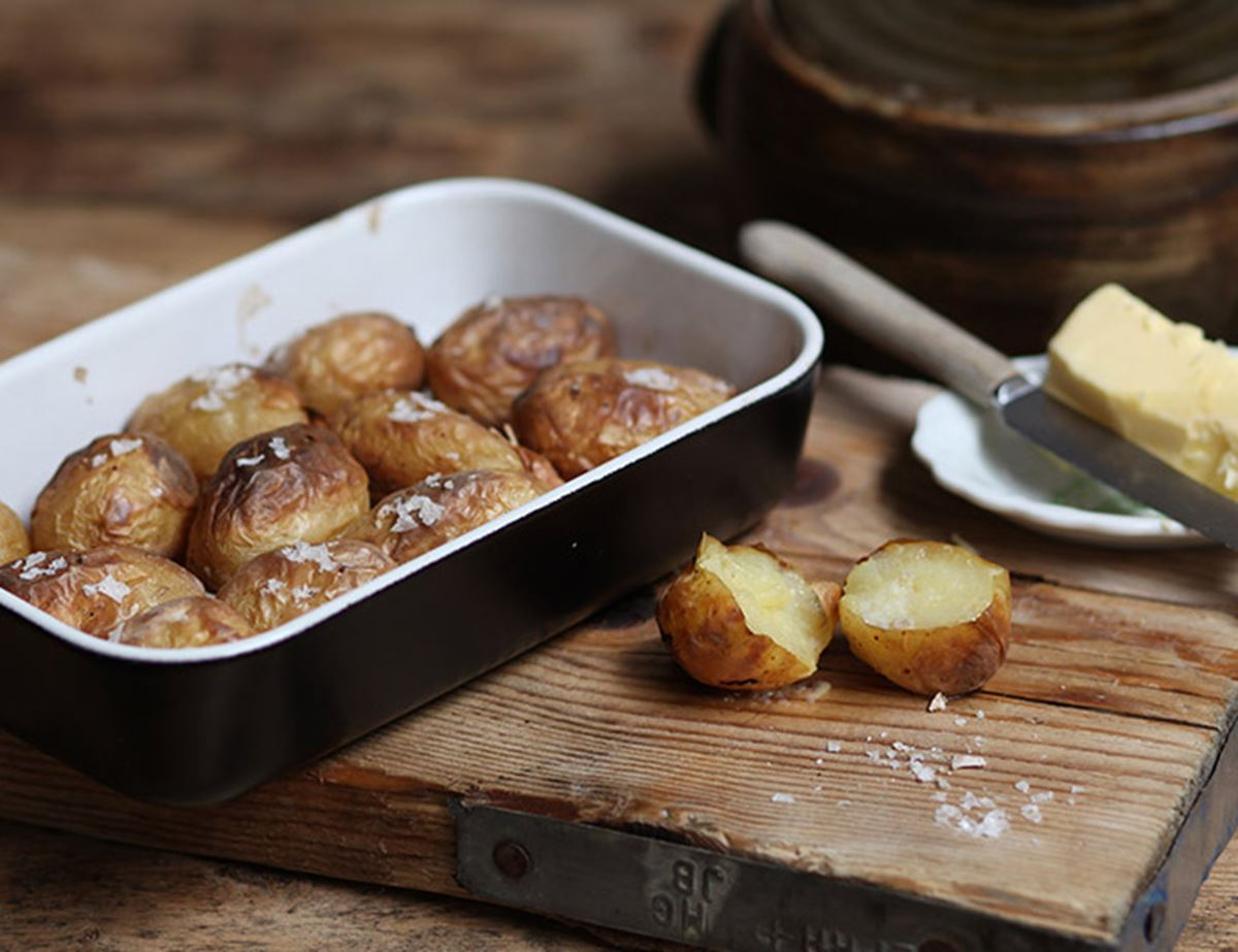 Salt Roasted Spuds