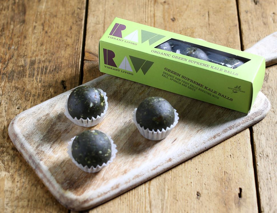 Green Supreme Kale Balls, Organic, Raw Health (60g)