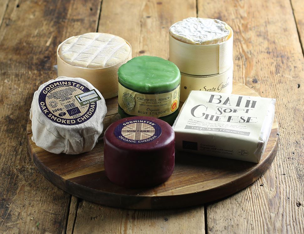 The Deluxe Organic Cheese Board (1.2kg)